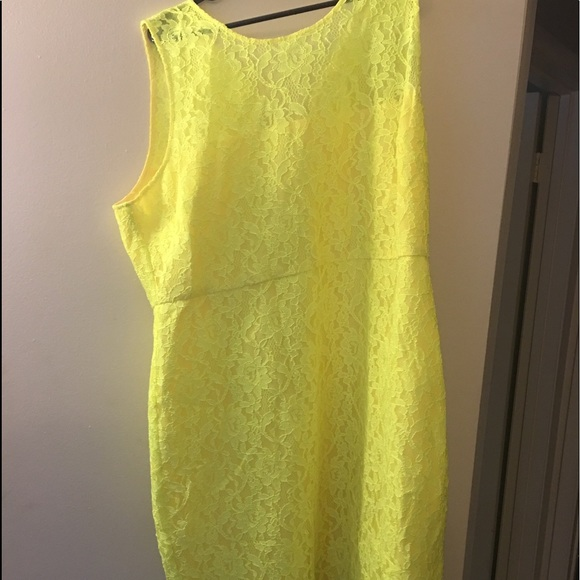 J. Crew Dresses & Skirts - J Crew yellow lace dress new with Tags